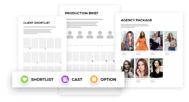 Castingpad creates and manages the entire casting process – models, casting professionals, producers, production coordinators and agency briefs.